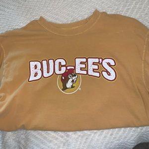 Tops - Yellow Bucees T-shirt
